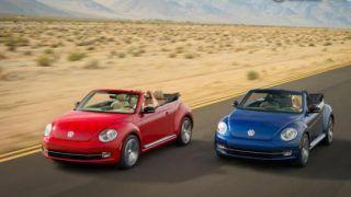 Volkswagen shows off 2013 Beetle convertible ahead of LA debut