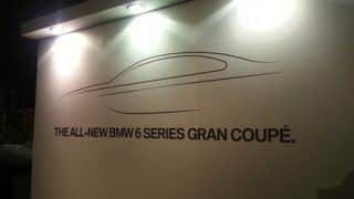 Live: BMW 6-Series Gran Coupe launch in India