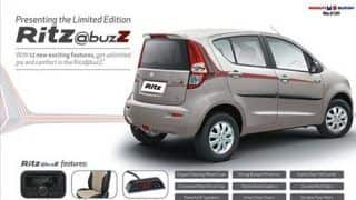 Special Edition Maruti Suzuki Ritz @buzz launched in India