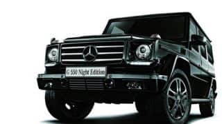 Mercedes Benz launches G550 Night Edition in Japan