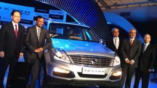 Mahindra & Ssangyong take their partnership a step further; start work on new global engine range