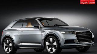 2012 Paris Motor Show - Audi Crosslane concept