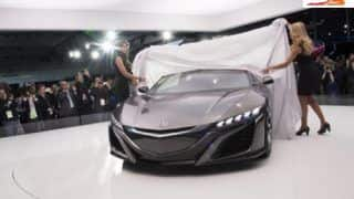 2013 NAIAS: Acura showcases NSX Concept and its interiors