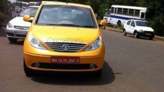Scoop 2011 Tata Indica Vista facelift caught testing