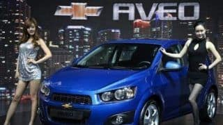 Over 40,000 Chevrolet Aveo units recalled in China