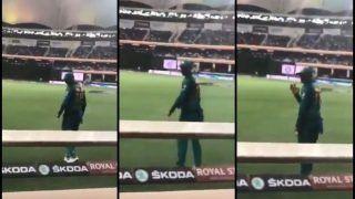 India vs Pakistan, Asia Cup 2018: Indian Fans Call Sania's Mirza's Husband Shoaib Malik 'Jiju' During Super Four Match, Veteran Cricketer Acknowledges Love -- WATCH