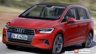 2018 Audi A3 MPV: Here's Audi's answer to Mercedes-Benz B Class in rendering
