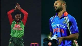 Asia Cup 2018 Final, India vs Bangladesh: Nazmul Islam Does Nagin Dance After Dismissing Shikhar Dhawan -- WATCH
