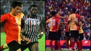Calcutta Football League 2018: East Bengal vs Mohan Bagan Highlights -- Mehtab Hossain's Injury to Jhonny Acosta Dream Debut, Talking Points From Kolkata Derby -- WATCH