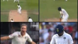 India vs England 5th Test Kennington Oval Report: How Virat Kohli Was Dismissed For a Golden Duck of Stuart Broad -- WATCH