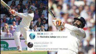 India vs England 5th Test Day 3 Kenington Oval: ICC Calls Ravindra Jadeja 'Sir', Get Trolled