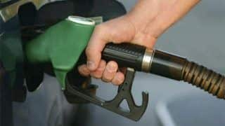 Petrol price increased by 64 paise, while diesel rates slashed by INR 1.35
