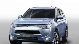 Mitsubishi Outlander plug-in hybrid launched in Europe