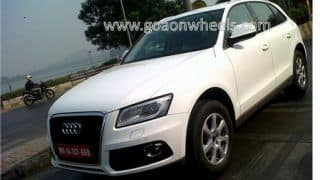 Scoop: 2013 Audi Q5 Facelift caught