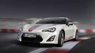 Toyota launches GT86 Cup Edition