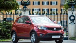 2014 Ssangyong Korando goes on sale in the UK