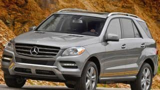 2012 Mercedes Benz ML350 CDI launched for Rs 66 lakh
