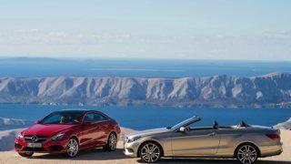 2014 Mercedes Benz E-Class Coupe & Cabriolet unveiled