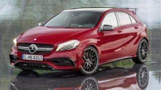 India-bound 2015 Mercedes-Benz A-Class facelift revealed