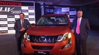 New Mahindra XUV500 facelift launched; price, features & specification