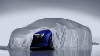 Audi R8 Sports Car in India: Audi to add high-beam laser headlights in the new R8
