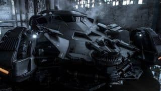 Here's a first look of the new Batmobile from Batman VS Superman: Dawn of Justice