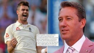 India vs England 5th Test Kennington Oval: Glenn McGrath Takes to Instagram to Praise James Anderson on Becoming Most Successful Fast Bowler in tests
