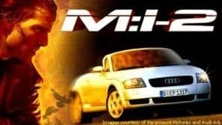 Audi TTs History with Hollywood: First TT Roadster featured in Mission Impossible II