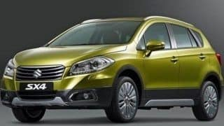 Maruti Suzuki S-Cross website goes live: launch in July, 2015