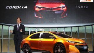 2013 NAIAS: Toyota Corolla Furia concept