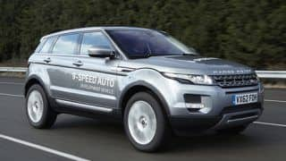 Range Rover Evoque equipped with 9-speed auto 'box to debut at Geneva