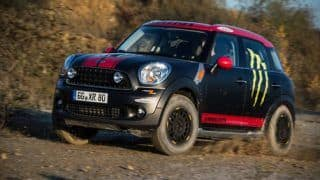 Mini Countryman backed with off-road package heads to Dakar