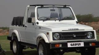 Indian Army Orders for over 2,000 Units of Maruti Gypsy