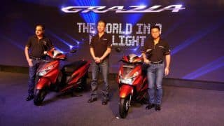 LIVE Updates: Honda Grazia launched in India at INR 57,897; Price in India, Specs, Dimensions, Features, Mileage