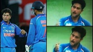 Asia Cup 2018 Super Four, India vs Afghanistan Match 5: MS Dhoni Roasts Kuldeep Yadav After Bowler Asks For Change in Field -- WATCH