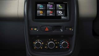 Renault Duster SUV gets a new 'Media NAV' system