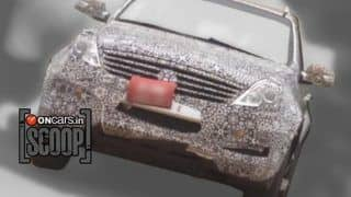 Exclusive! 2013 Mahindra Ssangyong Rexton W caught on test in India
