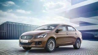 Maruti Suzuki Ciaz Z+ Launched: Price in India starts at INR 9.08 lakhs for top variant of Maruti Ciaz