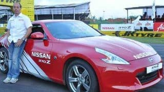 Excitement at Nissan's 370z stunt show in Chennai