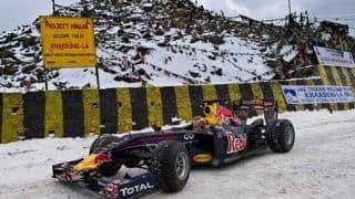 Red Bull racing scales new heights
