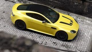 Video: Aston Martin V12 Vantage S is a record-breaking brute