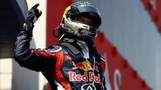 Vettel a mere step away from second F1 title