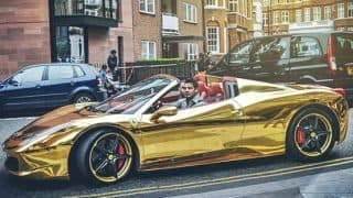 Supercars made of gold: Insane yet really expensive