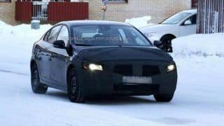 2014 Volvo S60 facelift spied on its home turf