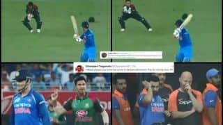 India vs Bangladesh Finals, Asia Cup 2018: MS Dhoni Scores 36 Off 67 Balls, Gets Trolled For Slow Batting -- WATCH