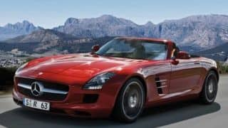 2012 Auto Expo - Mercedes-Benz to launch SLS AMG Roadster next month