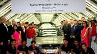 Skoda begins production of Rapid for India