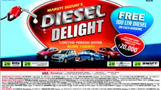Limited offer: Maruti Suzuki offering 100-litre of fuel on select diesel models