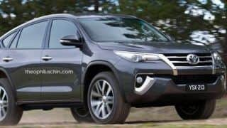 New Toyota Fortuner 2016 turns into BMW X6 like Coupe