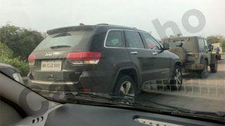 2014 Jeep Grand Cherokee spied in Mumbai